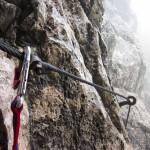 Erste Kletterstelle